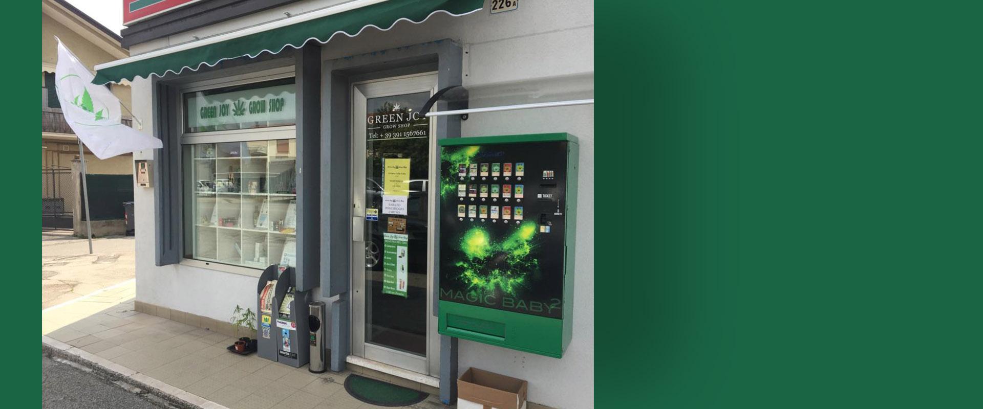 Distributore automatico 24h su 24
